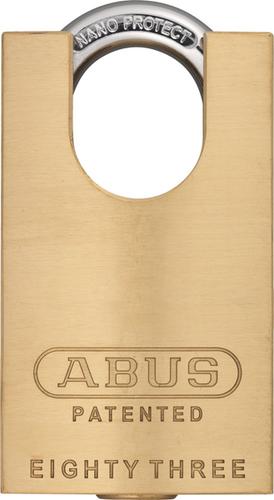 Abus 83cs 45 Brass Rekeyable Concealed Shackle Padlock