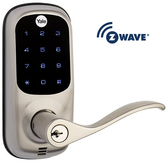 Yale Real Living YRL220-619ZW-KW Z-Wave Touchscreen Lever Lock