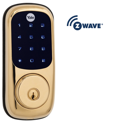 Yale Real Living Yrd220 605zw Kw Z Wave Touchscreen Deadbolt