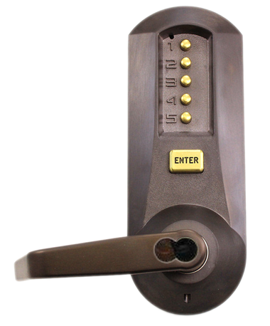 Kaba Simplex 5021mwl 744 41 Mechanical Pushbutton Lever