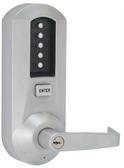 Kaba Simplex 5021XKWL-26D-41 Mechanical Pushbutton Lever Lock W/ Key Override