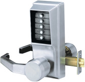 Kaba Simplex LR1021M-26D-41 Right Hand Unican Pushbutton Lock With Medeco IC Prep
