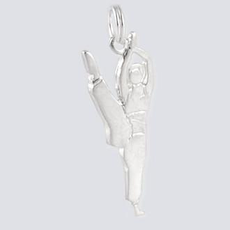 Arabian Princess Charm - Nutcracker Dance Jewelry Silver