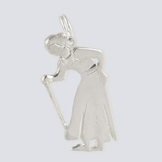 Grandmother Charm - Nutcracker Dance Jewelry Silver