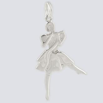 Marzipan Charm - Nutcracker Dance Jewelry Silver
