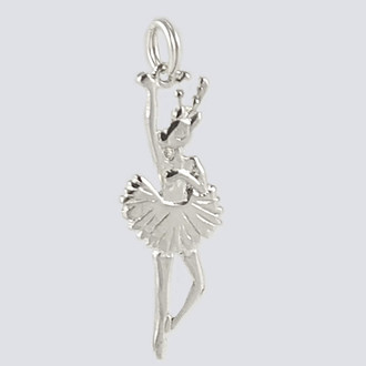 Reindeer Charm - Nutcracker Dance Jewelry Silver