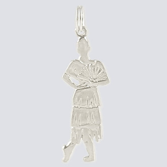 Spanish Charm - Nutcracker Dance Jewelry Silver