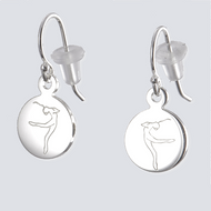 Modern Attitude Earrings - Silver Dance Jewelry Collection