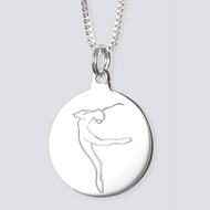 Modern Attitude Charm (Lg) - Silver Dance Jewelry Collection