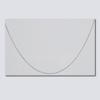 "16"" Fine Silver Necklace"