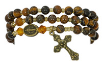 (BR635C) TIGER EYE TWISTABLE BRACELET