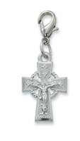 (CL8084) CELTIC CRUCIFIX CLIPABLE CHARM