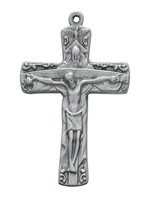 (D9128) PEWTER TRINITY CRUCIFIX