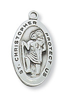 "(L388) SS ST CHRIS 18 CH&BX"""