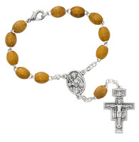 (724C) FRANCISCAN AUTO ROSARY