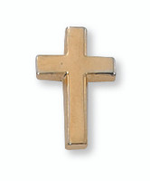 (PIN-CRSG) GOLD CROSS LAPEL PIN