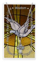 (PSD1810) PEWTER 4WAY PRAYER CARD SET