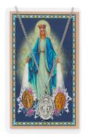 (PSD461MI) MIRACULOUS PRAYER CARD SET