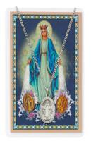 (PSD500MI) MIRACULOUS PRAYER CARD SET