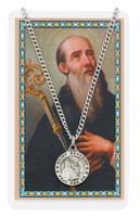 (PSD600BN) ST. BENEDICT PRAYER CARD SET