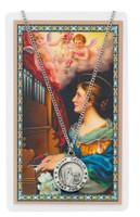 (PSD600CE) ST CECILIA PRAYER CARD SET