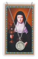 (PSD600CL) ST CLARE PRAYER CARD SET