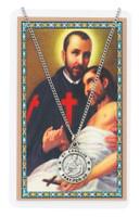 (PSD600CM) ST CAMILLUS PRAYER CARD SET