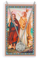 (PSD600RH) ST RAPHAEL PRAYER CARD SET