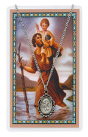 (PSD621CH) ST CHRISTOPHER PRAYER CARD SET