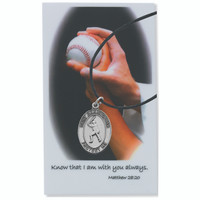 (PSD770BS) BOYS BASEBALL PRAYER CARD SET