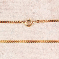 """(P-24R) CHAIN, MED GOLD PLATED, 24"""""""