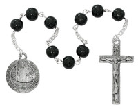 (CH128) ST. BENEDICT CHAPLET, CARDED