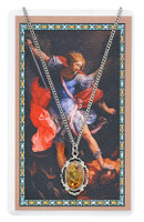 (PSD735) ST MICHAEL PRAYER CARD SET