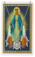 (PSD582) MIRACULOUS PRAYER CARD SET