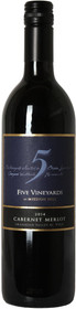 Mission Hill 2014 Five Vineyards Cabernet/Merlot 750ml
