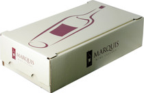 Cardboard Box - 2 Bottle Marquis Logo