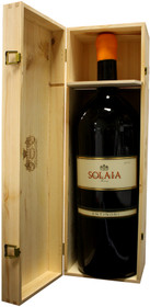 Antinori 2011 Solaia 6.0L double magnum wood case