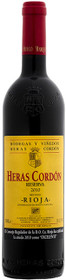 Heras Cordon 2010 Rioja Reserva 750ml