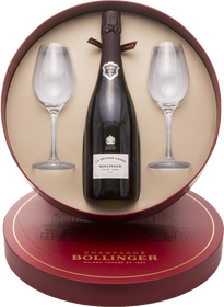Bollinger Hat Gift Box with Grand Annee Rose 2005