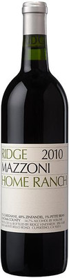 Ridge 2008 Mazzoni Home Ranch 750ml