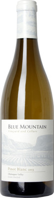 Blue Mountain 2015 Pinot Blanc 750ml