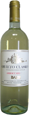 Barbi 2012 Orvieto Abboccato 750ml