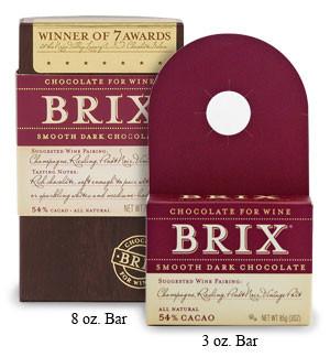 Brix Smooth Dark Chocolate 3oz