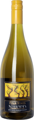 Four Vines 2010 Naked Chardonnay
