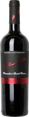 William Cole 2012 Winemaker's Special Reserve