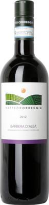 Matteo Correggia 2012 Barbera d'Alba