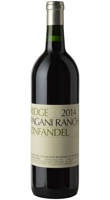 Ridge 2014 Pagani Ranch Zinfandel 750ml