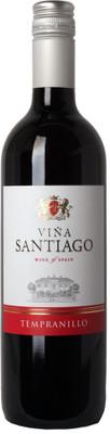 Vina Santiago 2015 Tempranillo 750ml