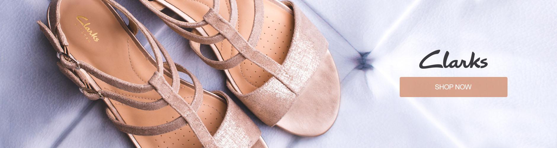 Ladies Clarks Shoes Shop Now