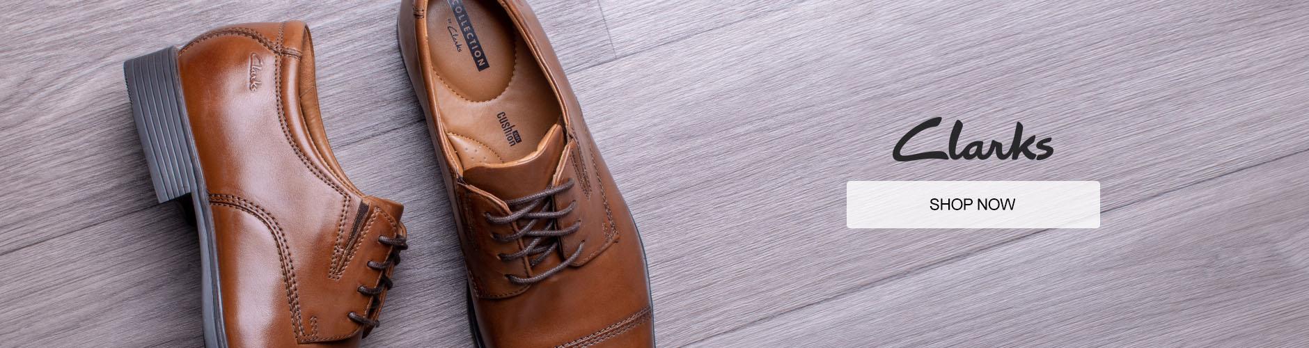 Mens Clarks Shoes Shop Now